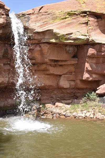 Waterfall at Mago